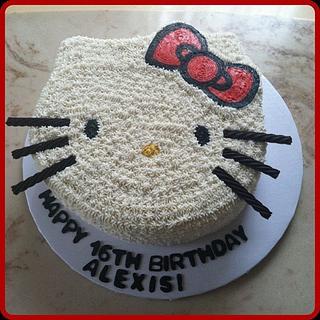 Hello Kitty Birthday Cake - Cake by Michelle Allen