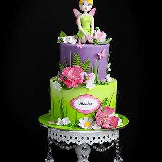 Tinker Bell cake!