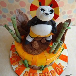 Skadoosh! Hiyaaa! Kungfu Panda Cake