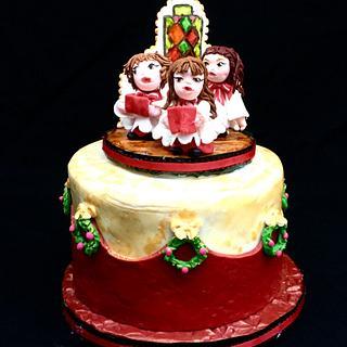 Christmas Choir Cake