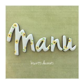 Manu biscotti decorati
