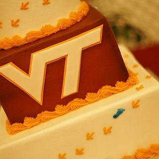 Hokie/VT wedding