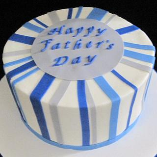 Fathers' Day cake