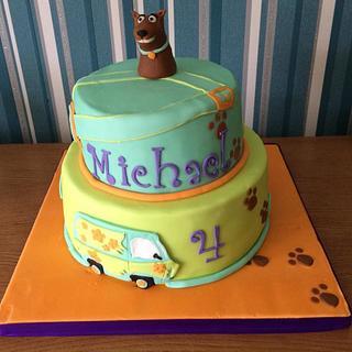 Scooby Doo Cake - Cake by Embellishcandc