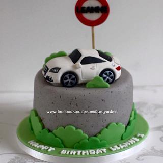 Audi car birthday cake :)