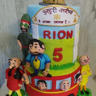 Motu Patlu cake