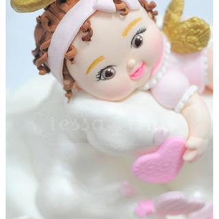 Angel Baby Cake