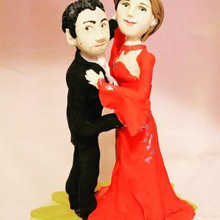 Dancers - Cake by Flora e Decora
