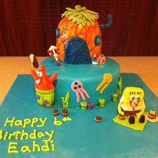 Spongebob Squrepants Cake - Cake by Dana