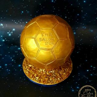 Caker Buddies Collab-Glamour-FIFA BALLON D'OR
