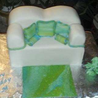 Sofa Cake - Cake by Donna Pope-Johnson