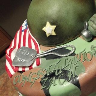 Army Cake - Cake by Debbie