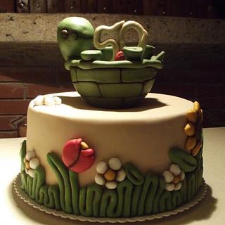 Thun Turtle Cake