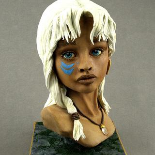 Princess Kida - Disney Deviant Sugar Art Collaboration