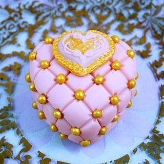 Valentine Bling Brownies