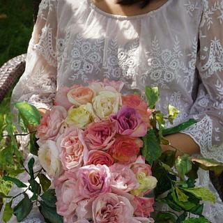 Edible Wafer Paper Bouquet