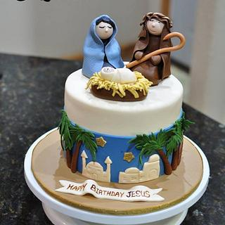 Reason for the Season - Cake by Cakes For Fun