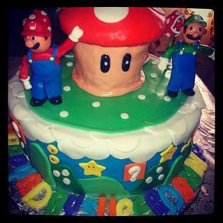 Super Mario Brother's Cake