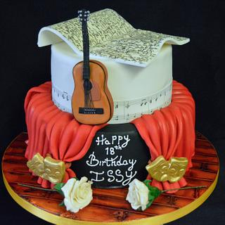 Drama Themed Cake