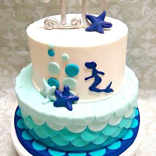 Mermaid Cake - Cake by YB Cakes and More