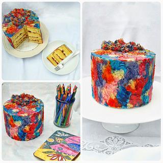 My birthday cake😊