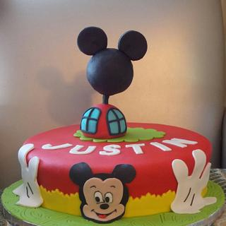 Justin mouse - Cake by the cake trend Elizabeth Rodriguez