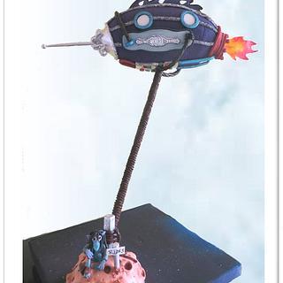 Rockellin - Cake by Maty Sweet's Designs