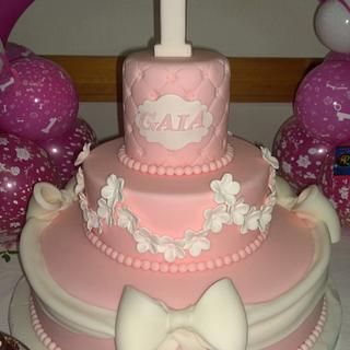 1st birthday - Cake by AngelaMa Le Torte