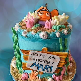 Icing Smiles - Nemo birthday cake - Cake by Shiny Ball Cakes & Creations (Rose)