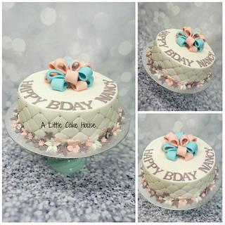 he or she cake  - Cake by a little cake house