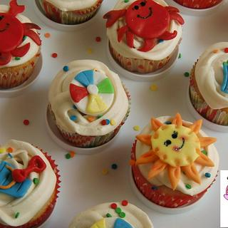 Summer's Here Cupcakes