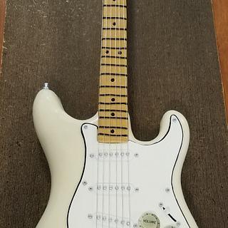 Fender Stratocaster Guitar Grooms Cake