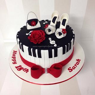 Music Fashion Cake