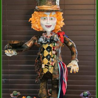 3 Foot Tall Mad Hatter Cake