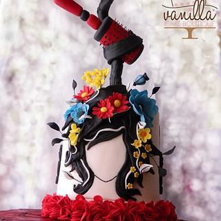 Crazy Hairbrush - Cake by Vanilla cake boutique