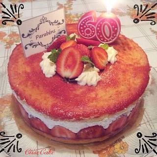 Fraisier - Cake by Cidália Silva