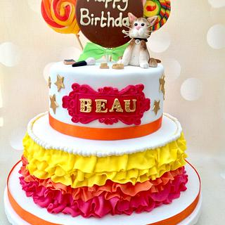 Beau's 13th birthday cake - Cake by Yvonne Beesley