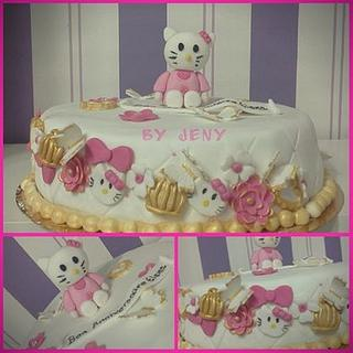 Hello Kitty Cake - Cake by Jeny Dogani