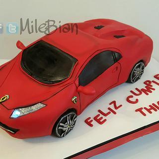 Ferrari Cake  - Cake by MileBian