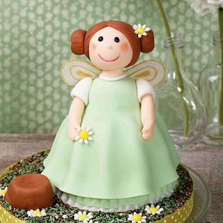 Spring Fairy - Cake by Bronwyn by Cake-o-Topia