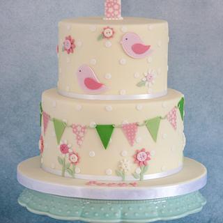 Christening/1st Birthday cake