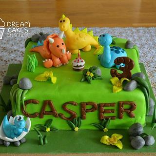 Dinosaurus cake!