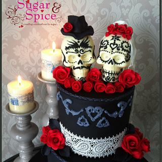 Forever in Love ~ Sugar Skull Bakers 2016