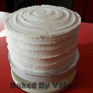 Rustic tiers - Cake by Baked By Valeri