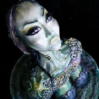 3D Siren Cake | Maria Magrat