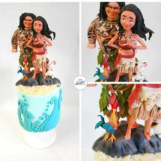 Moana  - Cake by TheCakeProjectCH