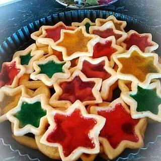 Glass cookies