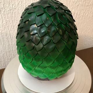 dragon egg - Cake by Widah
