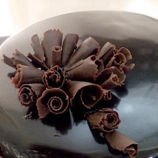 Belgian Chocolate Truffle Cake!