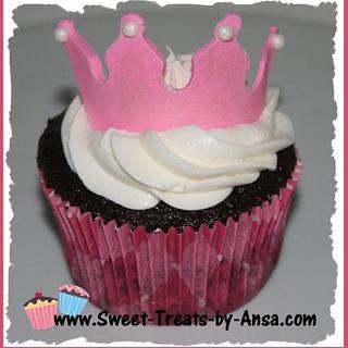 Princess Baby Shower cupcakes